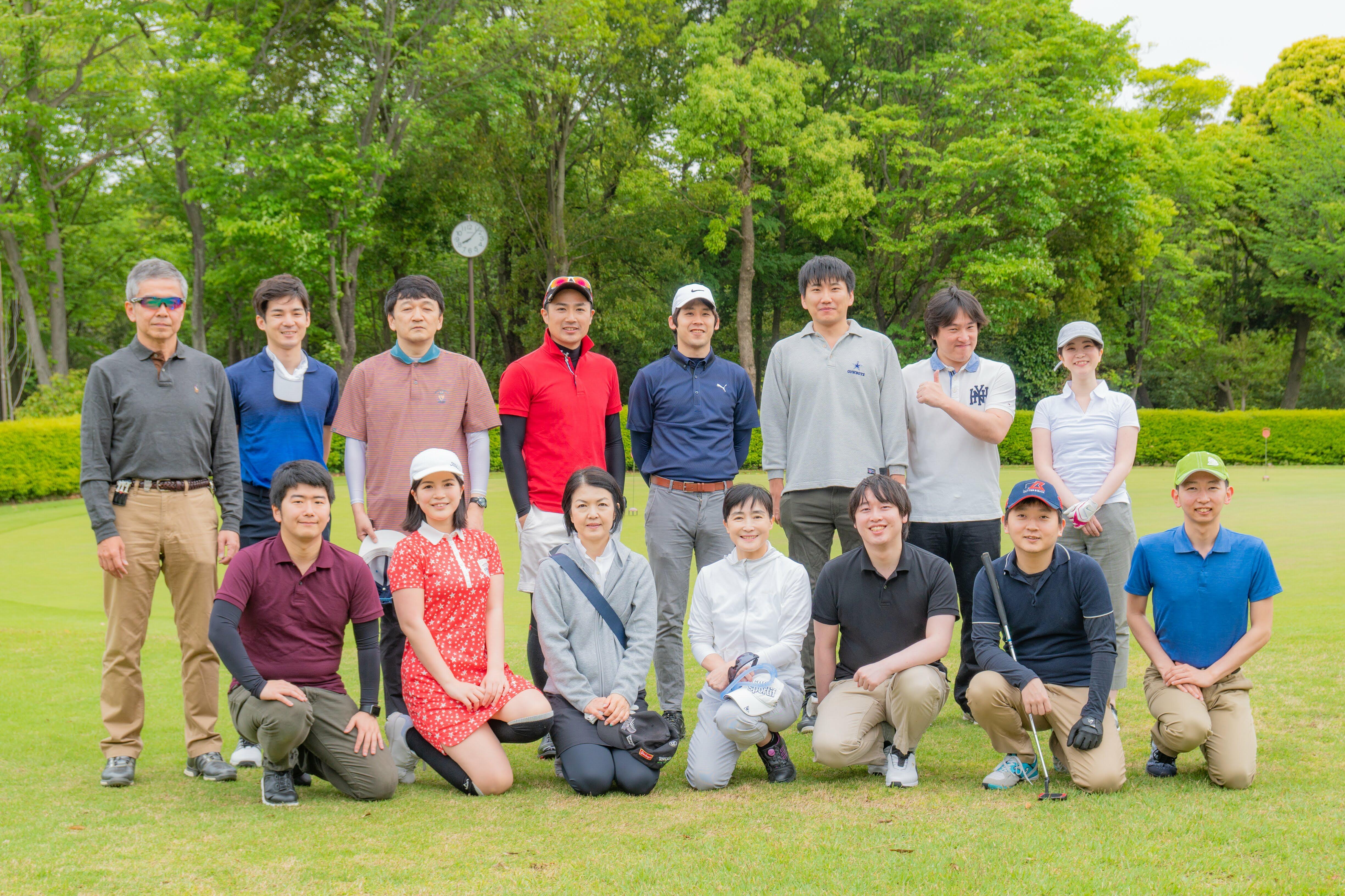 <span>青空の下で若手とベテランが一堂に会する </span><span>フォルシアゴルフコンペ開催レポート</span>