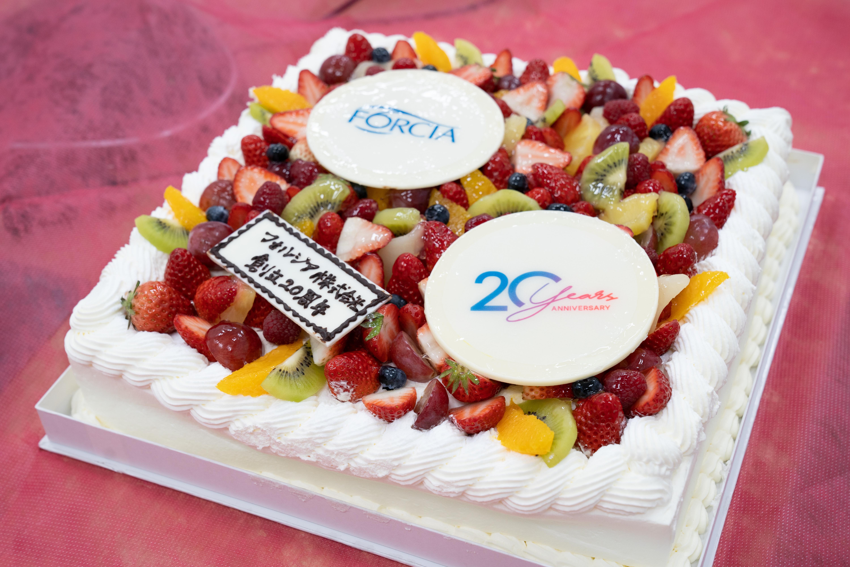 20年の節目を全社員で祝福! FORCIA 20th Birthday Party
